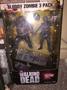 The walking dead. Bloody Zombie 3 pack