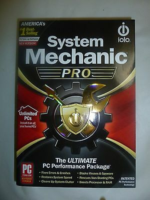 iolo System Mechanic Professional Pro Unlimited PCs Household New 1 Year