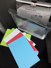 4 Color coded chopping cutting board set(New in box) Ultimo Inner Sydney Preview