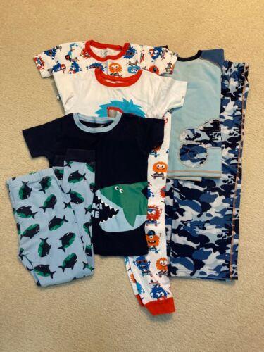 Boy's Pajamas, Lot of 3 Sets, CARTERS, Size 7