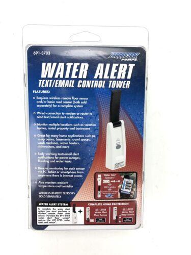 Water Detector Text Email Control Tower Pump Alert Sensor Leak Probe Monitor NEW
