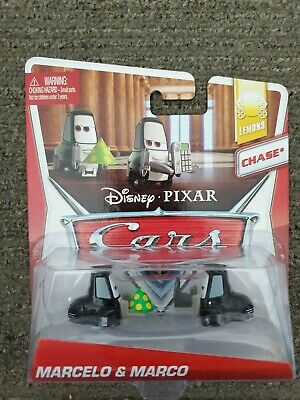 DISNEY PIXAR CARS 2 LEMONS SERIES MARCELO & MARCO CHASE NEW UNOPENED