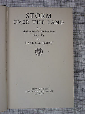 Storm Over The Land (Gettysburg, Bull Run, Richmond, Antietam, Abraham Lincoln)