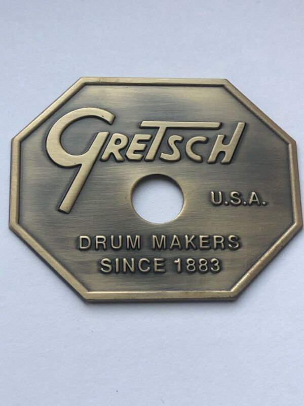 Gretsch Early 80's Drop G Drum Badge