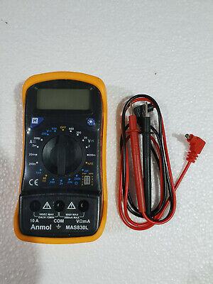 Digital Multimeter 3.5 Digit Lcd Display Transistor Diode Test Laboratory Use