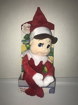 1x NEW Elf on the Shelf Plushee Pals Plush Doll BOY Christmas Toy