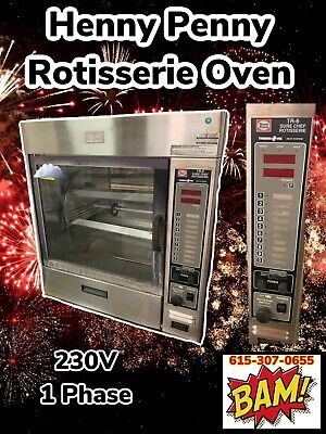 Henny Penny-tr-6 Hd Commercial Electric Rotisserie Oven - 230v 1 Phase
