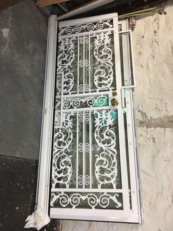 solid cast iron door and panel