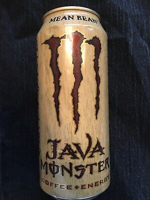 Monster Coffee Energy Drink - NEW SEALED MEAN BEAN JAVA MONSTER COFFEE-ENERGY DRINK 443mL 1 CAN