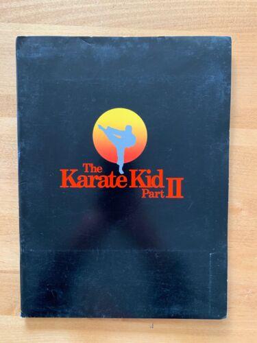 KARATE KID 2 Press Kit Ralph Macchio  Pat Morita | John Avildsen | William Zabka