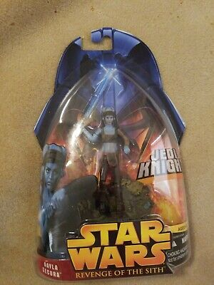 Star Wars Revenge of the Sith Aayla Secura Figure Hasbro 2005