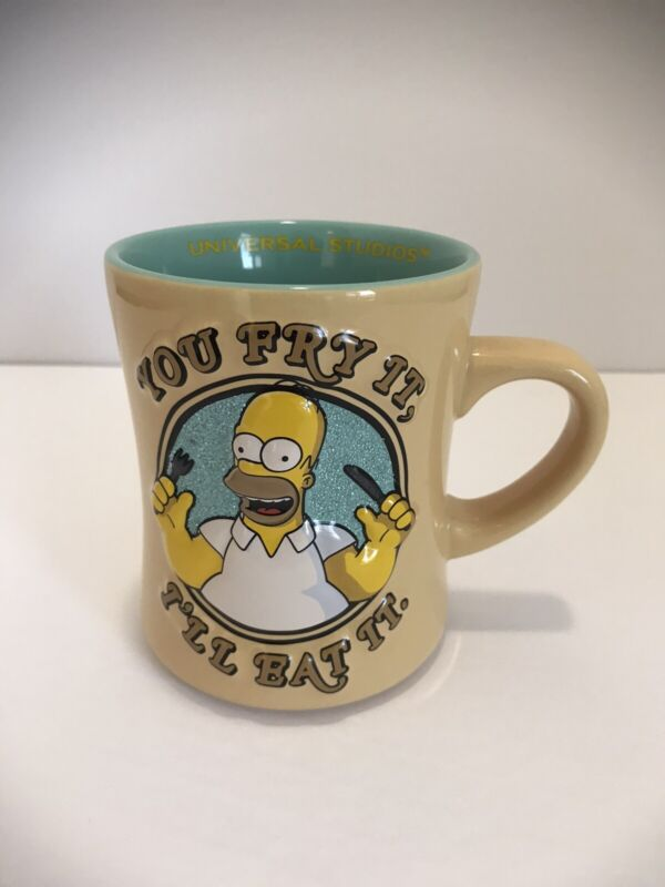 Simpsons The Original Talking Mug New In Box