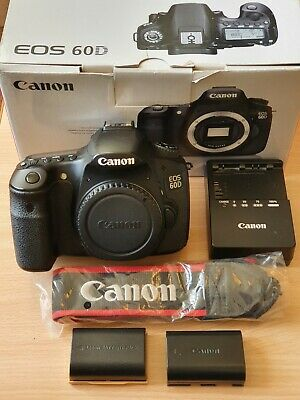 Canon EOS 60D Body Only 18.0MP Digital SLR Camera - Black