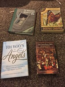 Variety of books $2 each