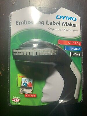 Dymo Embossing Label Maker With 3 Dymo Label Tapes New