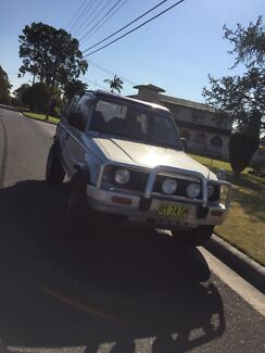 1993 Mitsubishi Pajero turbo diesel soft top convertable East Ryde Ryde Area Preview