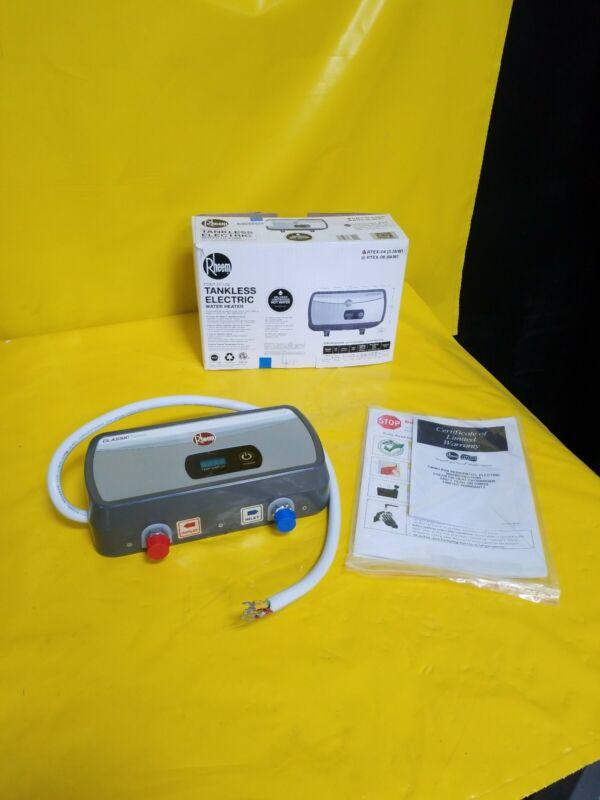 Rheem RTEX-04 120V 3500 W 29 Amp Undersink Electric Tankless Water Heater