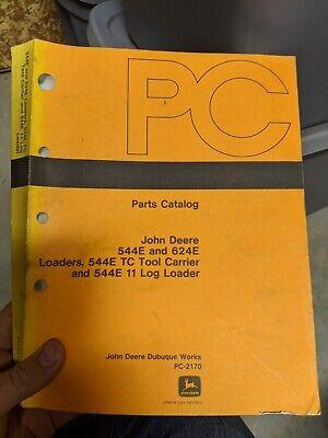 John Deere 544e 624e Parts Catalog Pc2170