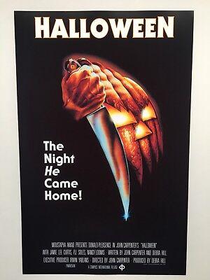 Halloween Theatrical Release 11x17 Movie Poster (1978) (Halloween X)