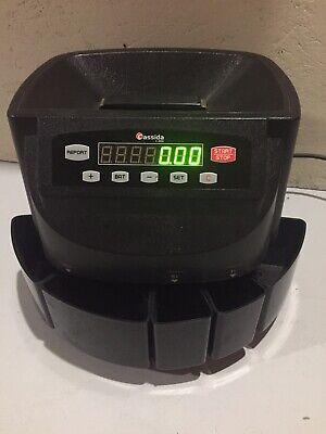 Cassida C200 Coin Counter Sorter 300 Coins A Minute