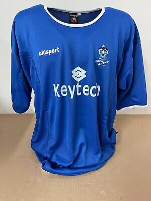 MAGLIA ROCHDALE SHIRT JERSEY TRIKOT NO MATCH WORN ISSUED OFFICIAL 2004/2005 image