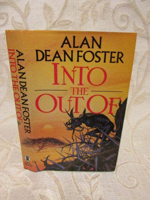 Book Of Into The Out Of, By Alan Dean Foster -1987