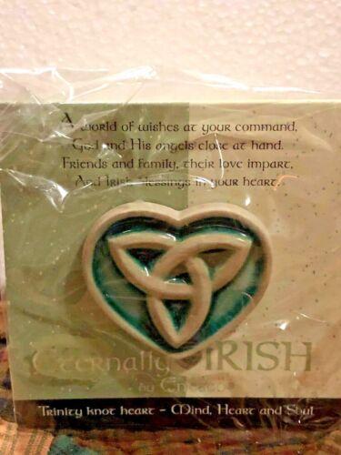 "ENESCO ETERNALLY IRISH ""SHAMROCK LAPEL PIN"" NIB (B) #111928"