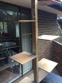 Cat ladder - brand new timber