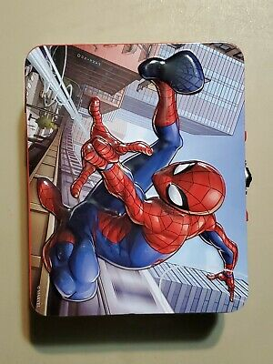 Spider-Man Lunch Box W/ Puzzle