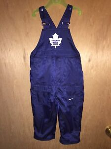 Toronto Maple Leafs Overalls 18 Months