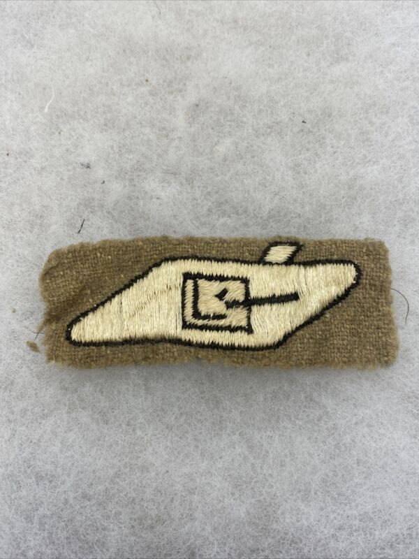 WW2 Tank Corps Cloth Insignia (I569