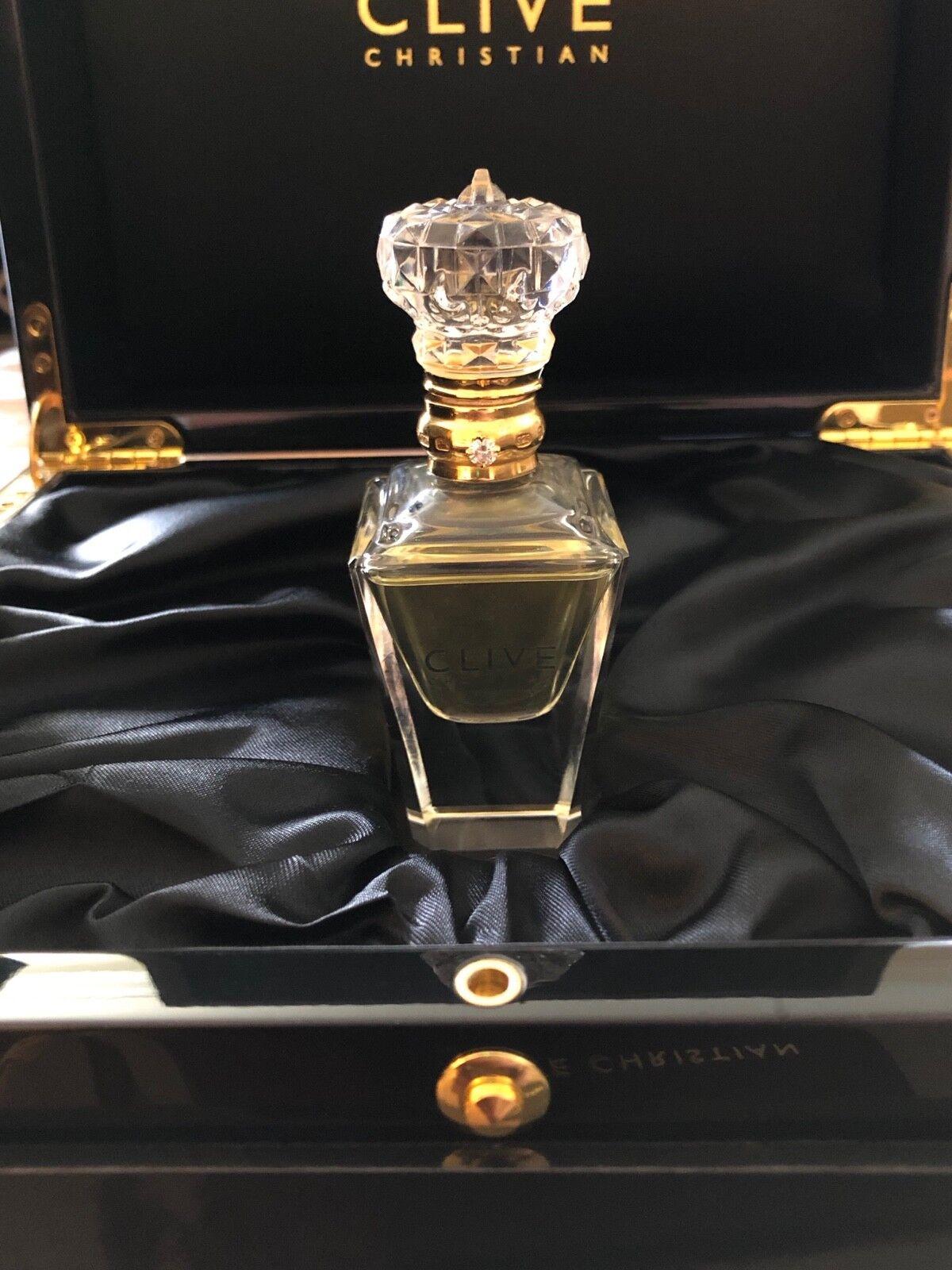 Genuine Clive Christian No. 1 Men Pure Perfume Crystal Bottl