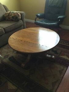 Country House solid Oak coffee table