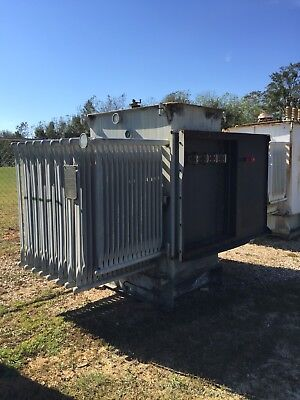 Westinghouse Substation Transformer 1500 Kva Primary 12470 Sec 480y277 Volt