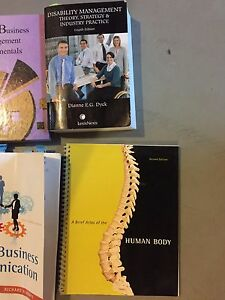 Textbooks, assorted