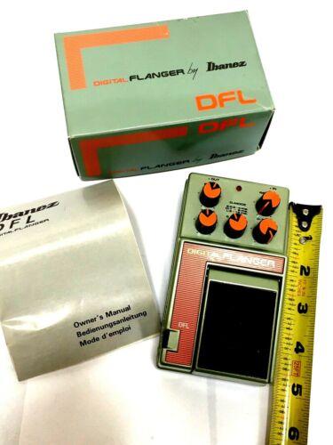Vintage 1980s Ibanez DFL Flanger Guitar Effects Pedal - Rage / Tom Morello