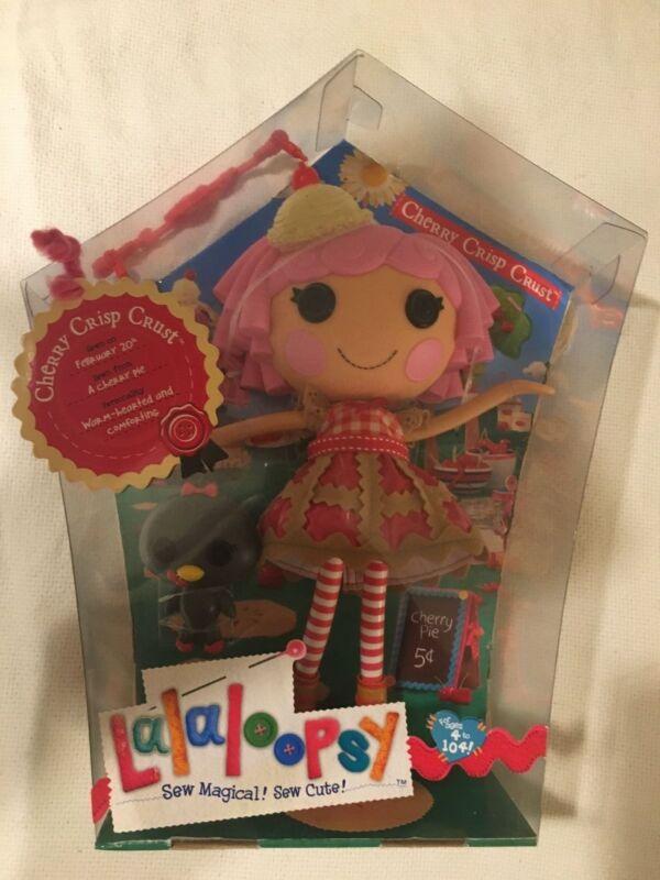 "HTF Very Rare Full Size Lalaloopsy ""Cherry Crisp Crust"" Doll w/Pet... NIB"