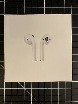New Sealed Apple AirPods 2nd Generation with Charging Case White