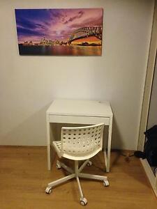 IKEA desk & office chair Centennial Park Eastern Suburbs Preview