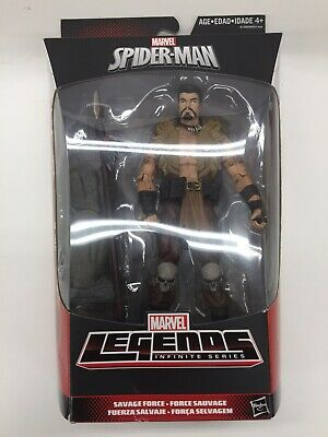 "Hasbro Marvel Legends 6"" Figure KRAVEN Rhino BAF Wave MISB"