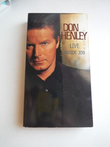 VHS Concert Video: DON HENLEY (the Eagles) LIVE_Inside Job_2000_105 min-17 songs