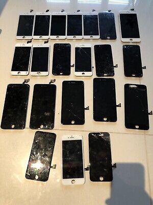 22X iPhone Cracked Screens Joblot 6,6+,6s,6s+,7,7+,8,8+