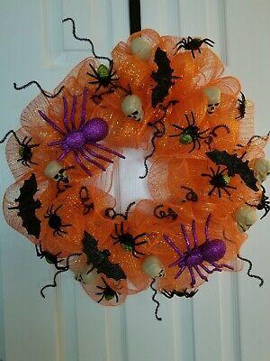 """Beautiful Halloween door wreath, 21"""" inch."""