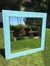 Blue distressed mirror Set price! Elanora Heights Pittwater Area Preview