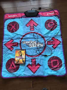 PlayStation 2 Dancing with the Stars game and mat
