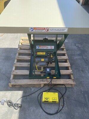 Used  Southworth Scissor Lift Table2000 Lb.115v1 Phase Ll2.0-32.5-48x48 Fs