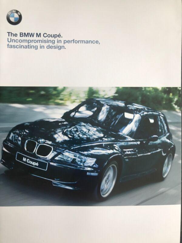 Car Brochure - 1999 BMW M Coupe - UK