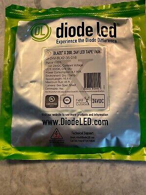 Diode Ultra Blaze 24v Led High Quality Tape Light X 200 3500k
