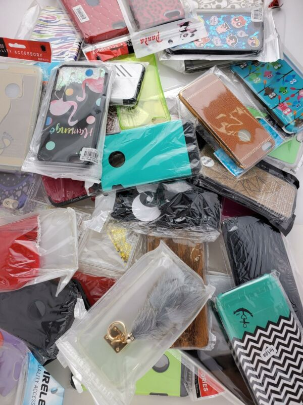 Wholesale Bulk Lot of 100 Iphone 6 Plus/6S Plus Cases Covers Skins