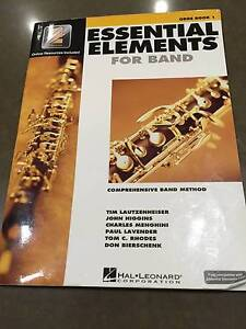 Essential Elements for Band Oboe book 1 Chatswood Willoughby Area Preview